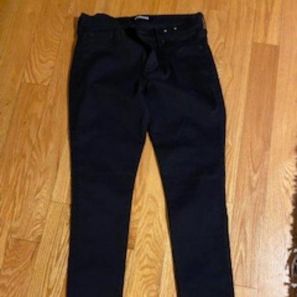 Express Black Skinny Jean